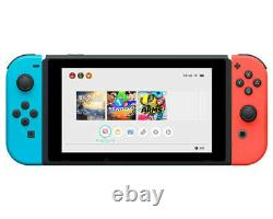 2020 Nintendo Switch with Neon Blue and Neon Red JoyCon 32GB (Newest Model)