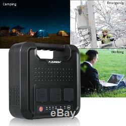 220Wh Portable Power Station Bank Generator Inverter Home Camping Emergency 4USB