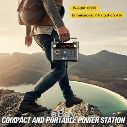 300W Portable Generator Lithium Portable Power Station, CPAP Backup battery pack