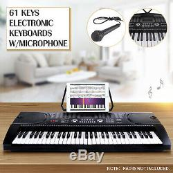 61 Keys Music Electronic Keyboards Electric Digital Piano Organ with Microphone