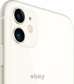 Apple iPhone 11 128GB White Verizon T-Mobile AT&T Fully Unlocked Smartphone
