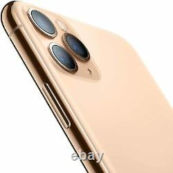 Apple iPhone 11 Pro Gold 256GB Verizon T-Mobile AT&T Fully Unlocked Smartphone
