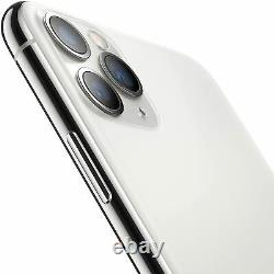 Apple iPhone 11 Pro Max 256GB Silver Verizon T-Mobile AT&T Unlocked Smartphone
