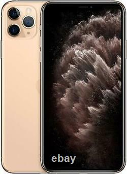 Apple iPhone 11 Pro Max 64GB Gold Verizon T-Mobile AT&T Unlocked Smartphone