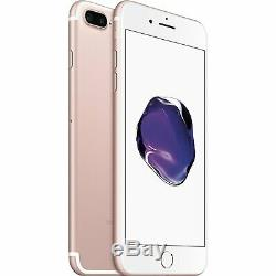 Apple iPhone 7 Plus 5.5 128GB ROSE GOLD GSM Unlocked AT&T T-Mobile Smartphone