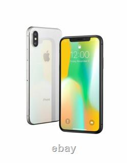Apple iPhone X 256GB Silver (AT&T) A1901 (GSM)