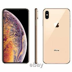 Apple iPhone XS Max 256GB Gold Verizon T-Mobile AT&T Fully Unlocked Smartphone