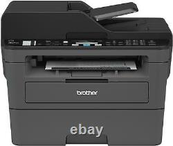 Brother MFC-L2710DW Wireless Black-and-White All-in-One Laser Printer Black