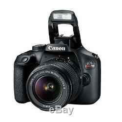 Canon EOS Rebel T100 18.0MP DSLR Camera with 18-55mm Lens+ 32GB (18 PC Bundle)