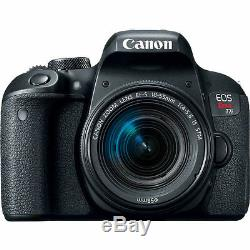 Canon EOS Rebel T7i with 18-55mm IS STM Digital SLR Camera Kit NEW