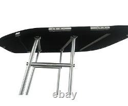 Dolphin Pro Boat T Top withBlack canopy Heavy Duty T Top Fishing T Top