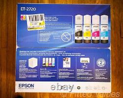 Epson EcoTank ET-2720 All-In-One Supertank Color Printer (White) NEW SHIPS NOW