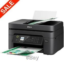 Epson Printer Machine Fax Scanner Copier All-In-One Wireless Office Wi-Fi With INK