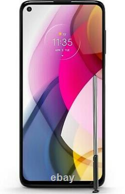 Moto G Stylus (2021) 128GB 48MP Camera Boost Mobile + 1st Month + Free Gift