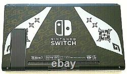 NEW 32GB Monster Hunter Rise Edition Nintendo Switch V2 REPLACEMENT CONSOLE ONLY