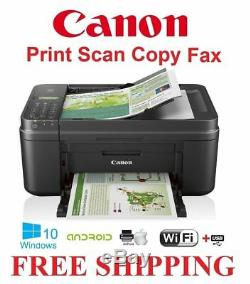 NEW Canon TR4527/4520 Wireless Office Printer Copy Scan-AirPrint-LCD-Fax