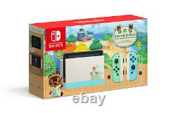 NEW Nintendo Switch Animal Crossings New Horizons Edition Gaming Console