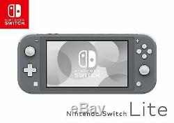 NINTENDO SWITCH LITE Gray Handheld Video Game Console Grey NEW SHIPS FREE
