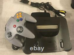 Nintendo 64 N64 Console + 1 Brand New Controller + Cords! LOW PRICE