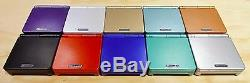 Nintendo Game Boy Advance GBA SP System AGS 101 Brighter MINT NEW Pick A Color