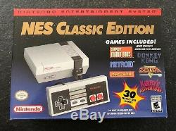 Nintendo NES Classic Edition Mini Console 100% Authentic Made by Nintendo