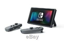 Nintendo Switch Gray Joy-Con, bundled with Carrying Case and Screen Protector