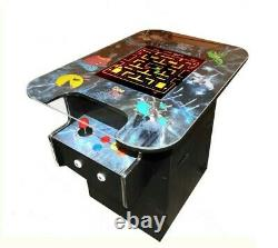 ON SALE Cocktail Arcade Machine with 412 games, New Sit down Arcade