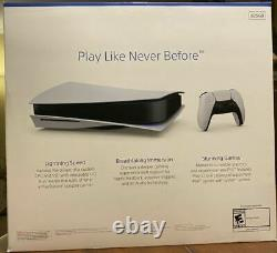 PS5 Sony PlayStation 5 DISC Edition Version White 2020 System SHIPS FAST NOW