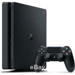 PlayStation 4 Slim 1TB Console + Extra DualShock 4 Wireless Controller Crystal