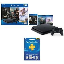 PlayStation 4 Slim 1TB Console Only on PS4 Bundle + PS Plus 3 Month Membership