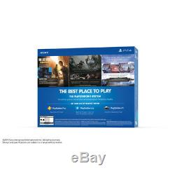 PlayStation 4 Slim 1TB Only on PS4 Console Bundle + Extra DualShock 4 Controller