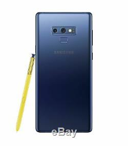 Samsung Galaxy NOTE 9 SM-N960U 128GB FACTORY Unlocked DEVICE 4G OB Excellent