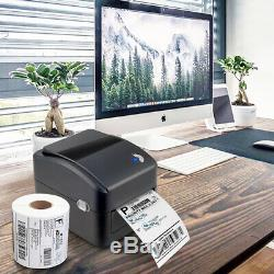 Shipping Label printer USB Direct thermal barcode with 4x6 in 350 labels x 5rolls