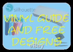 Silhouette Cameo 3 Machine Vinyl Sheets Siser HTV Pens, Cover and many more