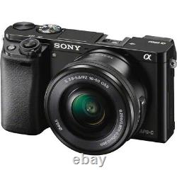 Sony Alpha a6000 Mirrorless Camera with 16-50mm & 55-210mm Power Zoom Lenses