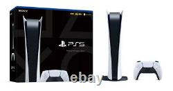 Sony Playstation 5 Digital Version Console Japan Import Same as US Spec