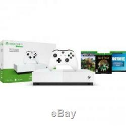 Xbox One S 1TB All Digital Edition + Extra Wireless Controller with Cable Included