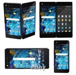 ZTE Axon M Z999 64GB Black AT&T GSM GLOBAL Unlocked Dual Screen New